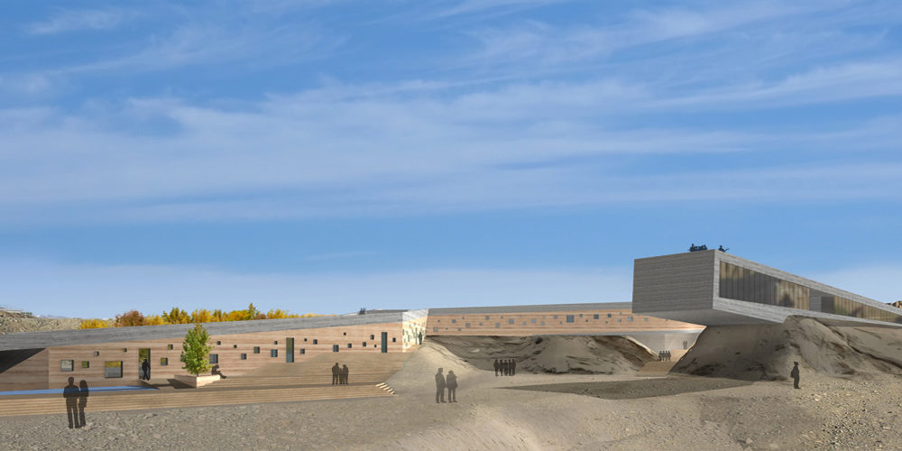 Simpl. / Bamiyan cultural center