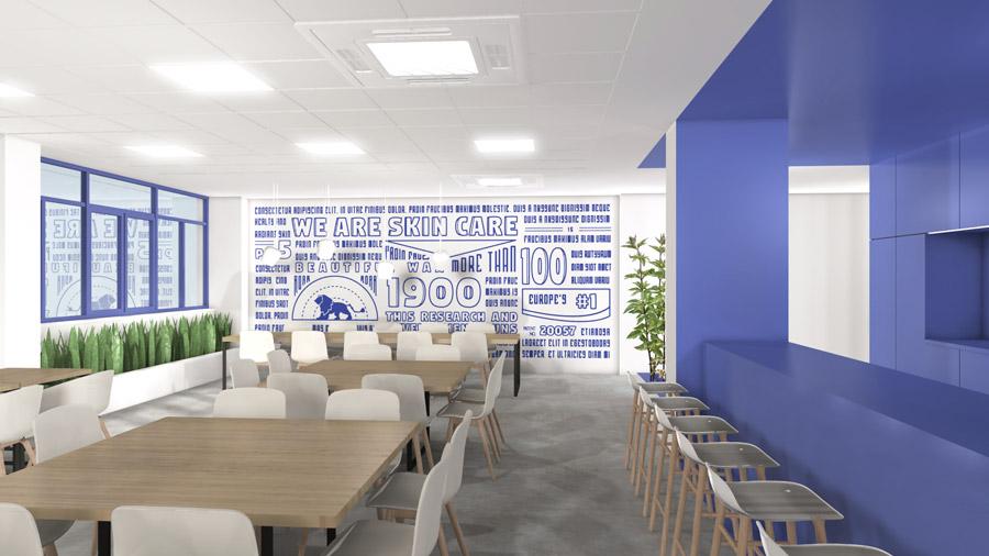 Beiersdorf office interiors