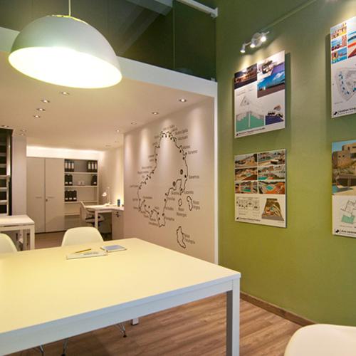 Simpl. / Christos Massouros Athens office interior design