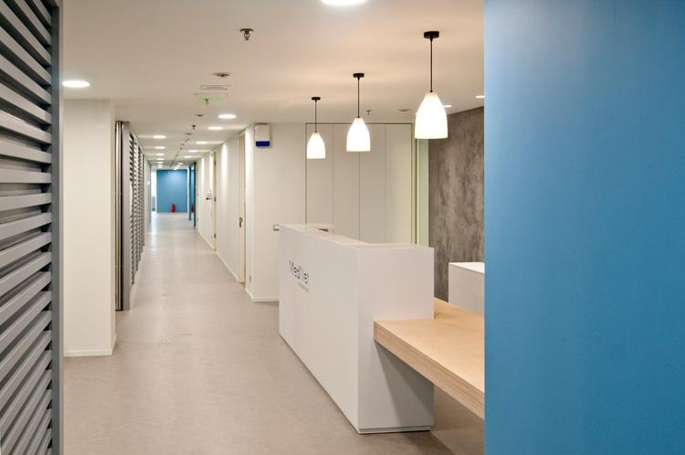 MedNet International Athens headquarters office interior