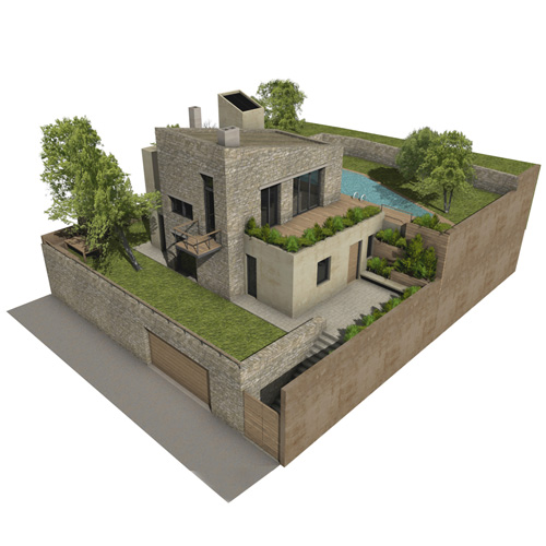 Simpl. / Penteli house