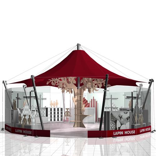 Simpl. / Lapin House carousel retail design