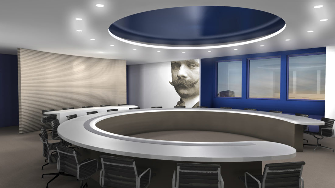 Beiersdorf office interiors