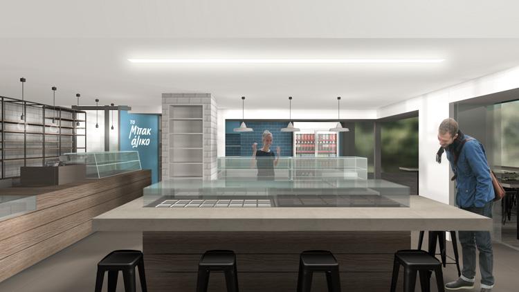 Igloo coffee house Piraeus