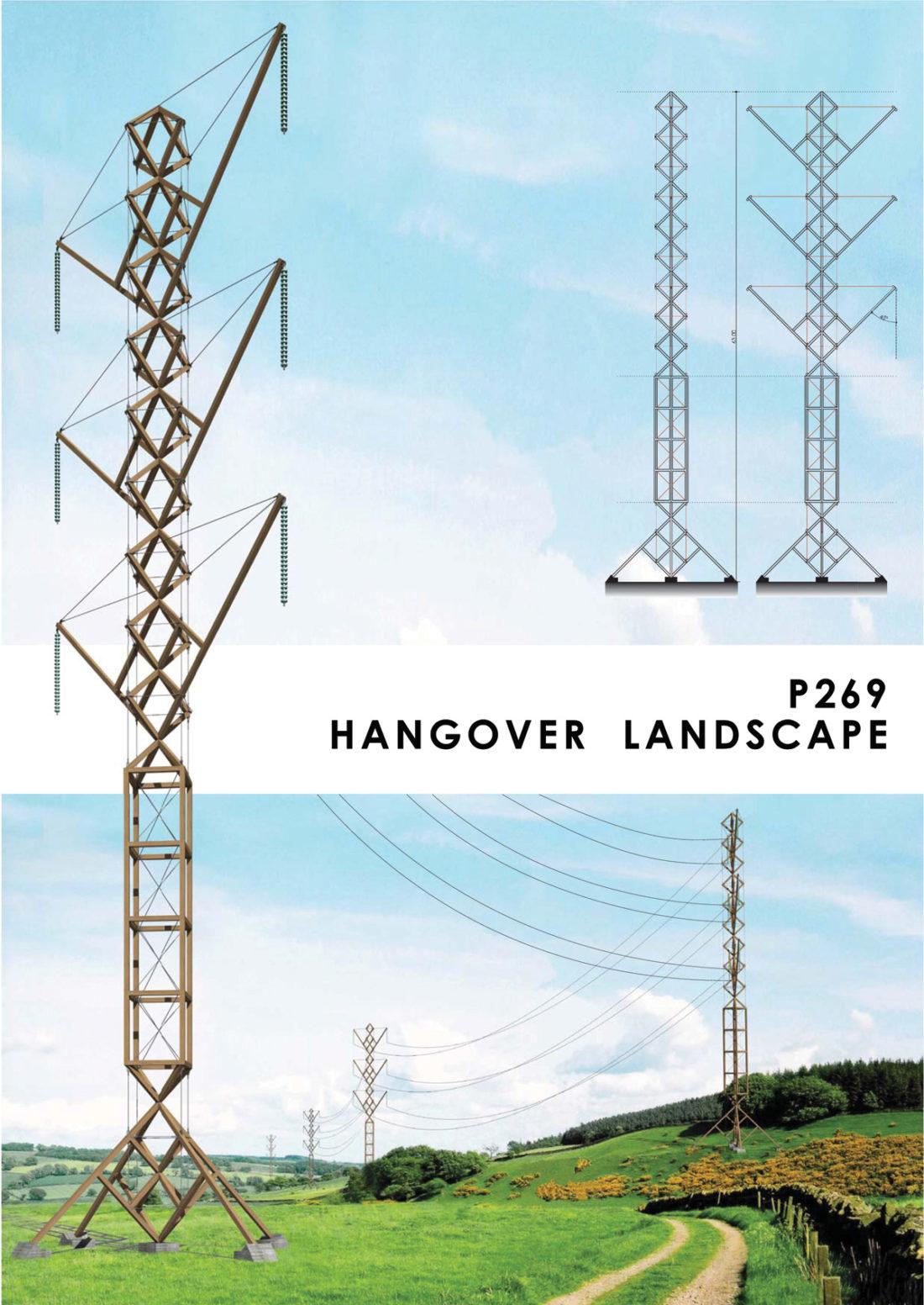 Hangover landscape pylon